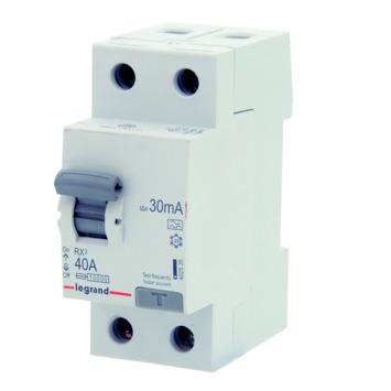 Disjoncteur différentiel Legrand 2P 40A 30mA