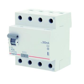Disjoncteur différentiel Legrand 4P 40 A 300 mA
