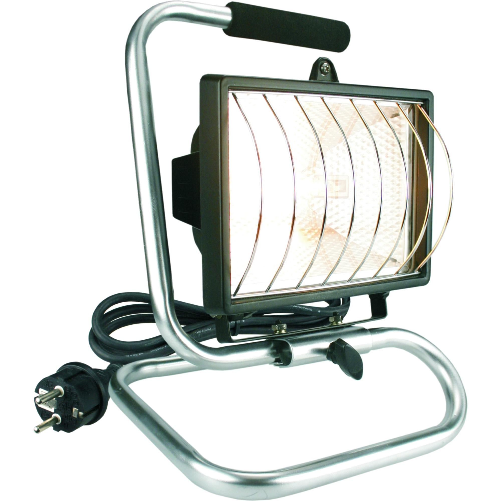 projecteur sur pied elro ampoule halog ne 400w projecteurs lampes de travail clairage. Black Bedroom Furniture Sets. Home Design Ideas