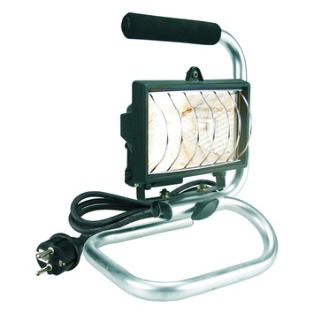 Projecteur sur pied Elro ampoule halogène 120W