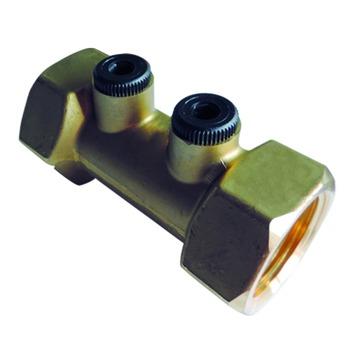 """Clapet anti-retour avec 2 contrôles type A Van Marcke GO 3/4""""Fx3/4""""F laiton"""
