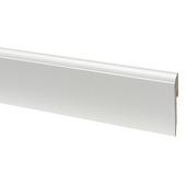 Plint mdf  kwartrond 1280 wit 240 cm