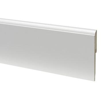 Plint mdf  kwartrond 12120 wit 240 cm