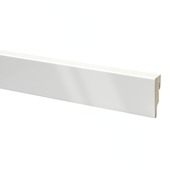 Plint mdf  kolonial hoogglans wit 240 cm