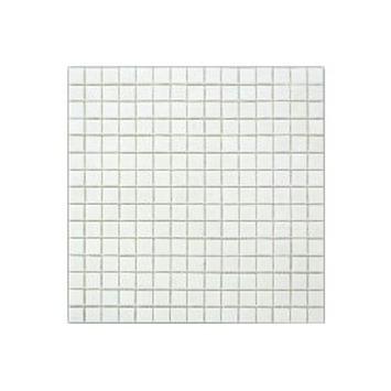Wandtegel Glasmozaïek Wit 30x30 cm 1,07 m²