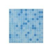 Carrelage mural mosaique verre bleu 2x2cm 1,07m²