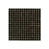 Carrelage mural mosaique verre noir 2x2cm 1,07m²