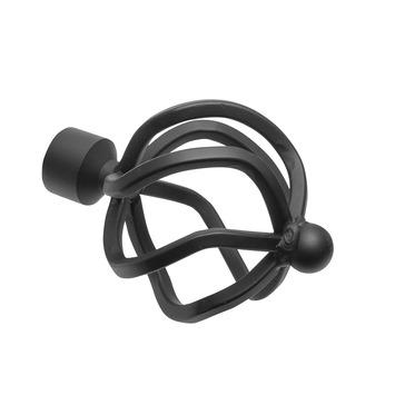 Intensions Classic eindknop voor roede globe zwart ø20 mm