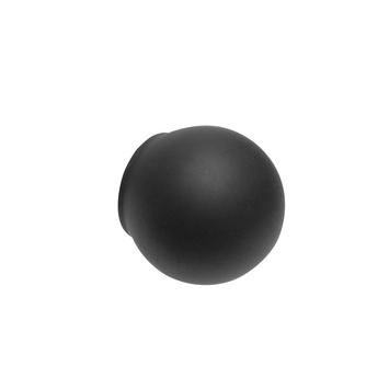Intensions Classic knop bola zwart ø20 mm 2 st