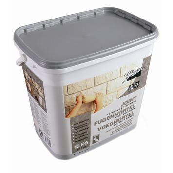Mortier de jointoyage pour briques de parement 15 kg gris