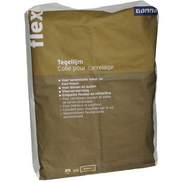 Colle flexible pour carrelage Flex GAMMA 25 kg gris