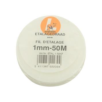 Etalagedraad nylon 1 mm 50 meter