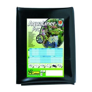 Bâche pour bassin Ubbink AquaLiner PVC noir 6x4m 0,5mm