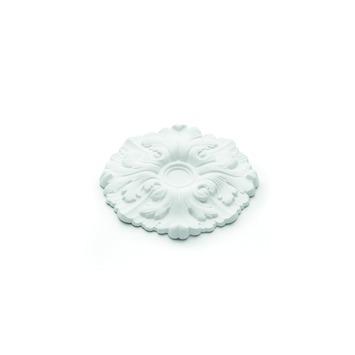 Decoflair rozet pu m61 ø225mm wit