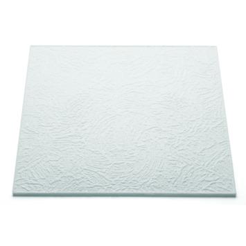 Decoflair plafondtegel t90 8mm 50x50cm wit 2 m²