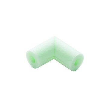 Climasnap buisisolatie hoek 28 mm groen