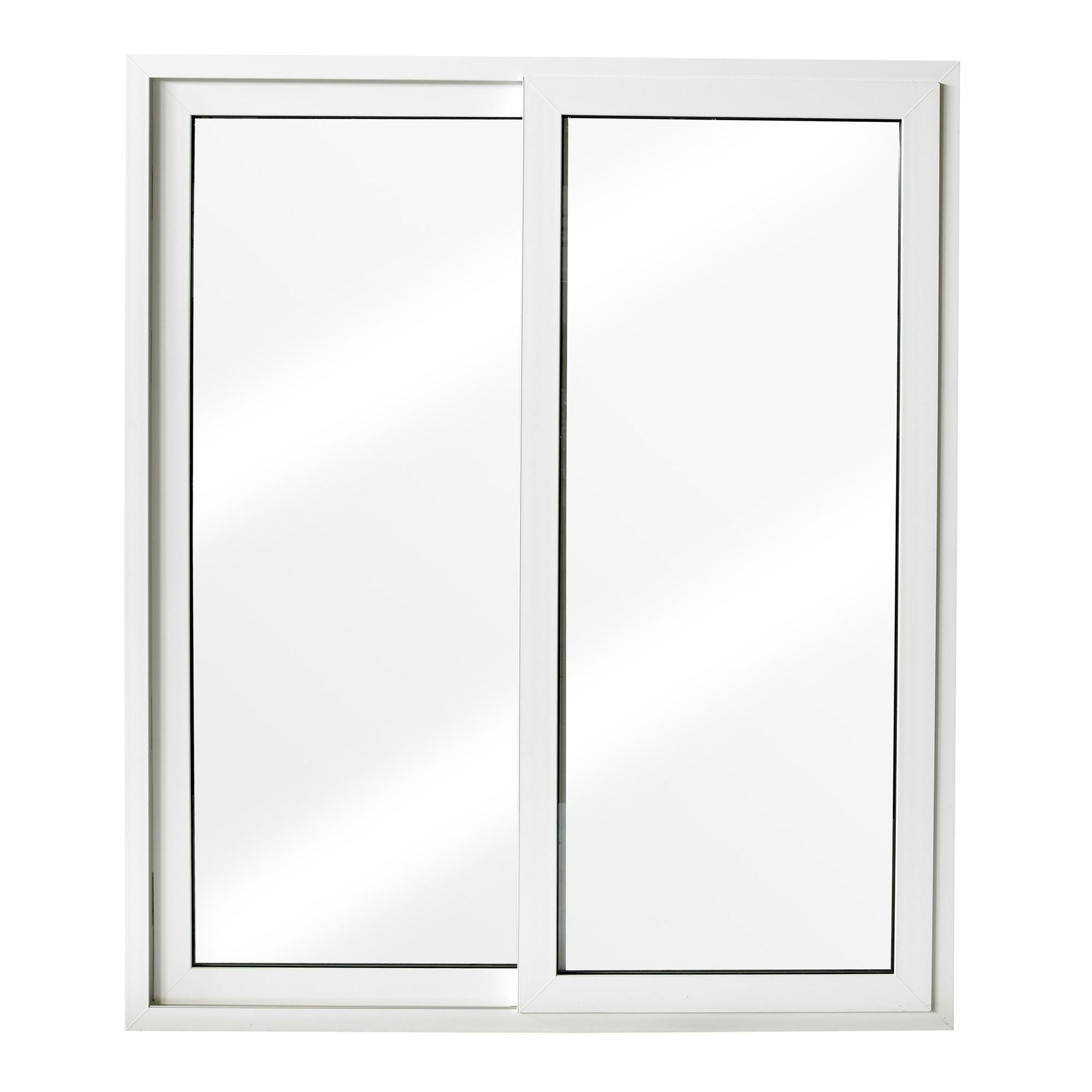 Porte coulissante en pvc blanc 218x186 cm u 1 4 portes ext rieures portes - Portes fenetres coulissantes exterieures ...