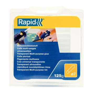 Cartouche de colle universelle Rapid transparent 7 mm 125 g