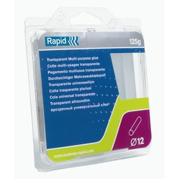 Cartouche de colle universelle Rapid transparent 12 mm 125 g