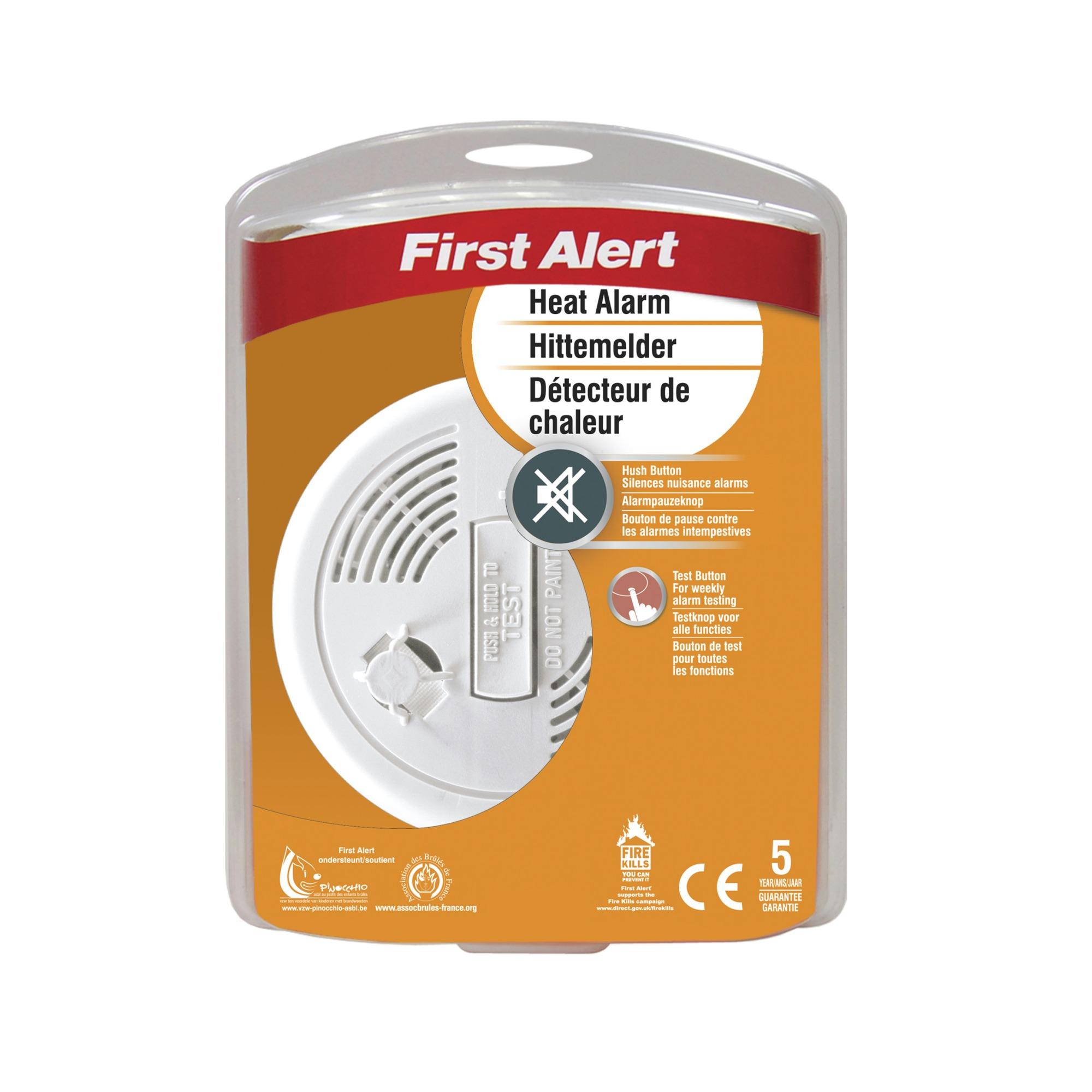 D tecteur de chaleur first alert ha300ce d tecteurs de for Detecteur de chaleur