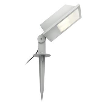 Spot à enterrer Botanic Philips 2 ampoules économiques E27 23W 2860 lumens gris