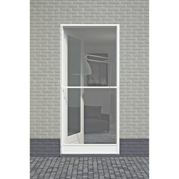 Porte moustiquaire Classic Fikszo aluminium 210x92 cm blanc
