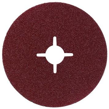 Jeu de disques abrasifs sur fibre Bosch 125 mm 12 pièces