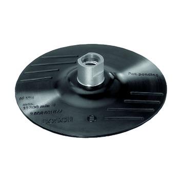 Bosch steunschijf voor haakse slijper rubber 115 mm klit.