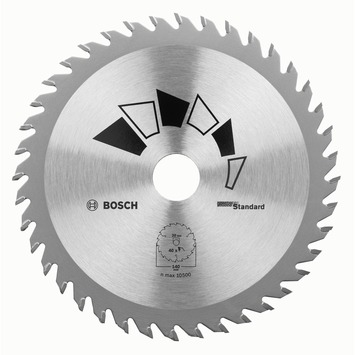 Bosch cirkelzaagblad HM T24 16 mm 160x20