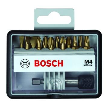 Jeu d'embouts Max Grip Bosch Pro PH-PZ-T-S 25 mm 13 pièces