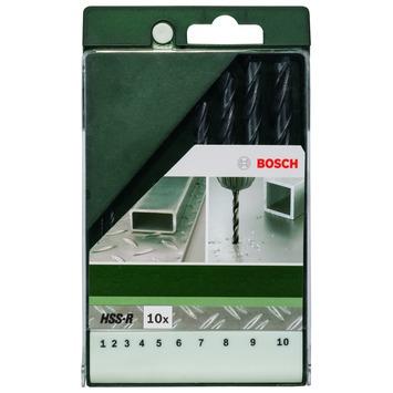 Bosch metaalborenset HSS-R 10-delig