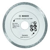 Bosch doorslijpschijf 115 mm tegel