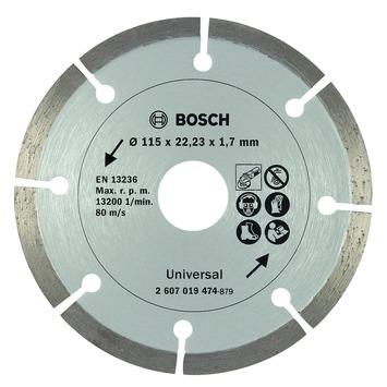 Bosch diamantdoorslijpschijf 115 mm universeel