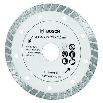Bosch diamantslijpschijf turbo 115 mm