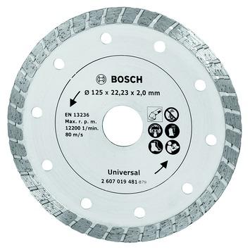Bosch diamantslijpschijf 125 mm turbo