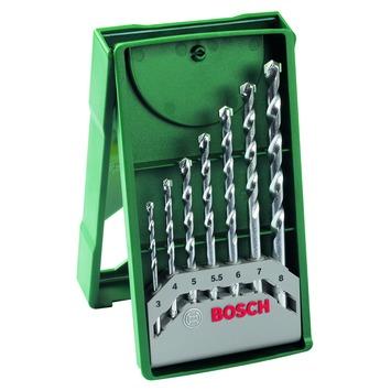 Jeu de mèches à pierre Bosch 7 pièces