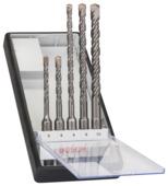 Jeu de forets SDS-plus Bosch Pro ø 5-6x115 mm ø 6-8-10x165 mm 5 pièces