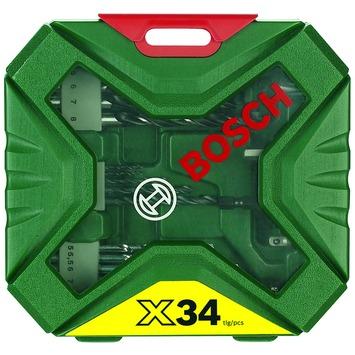 Jeu d'accessoires X-line Bosch 34 pièces