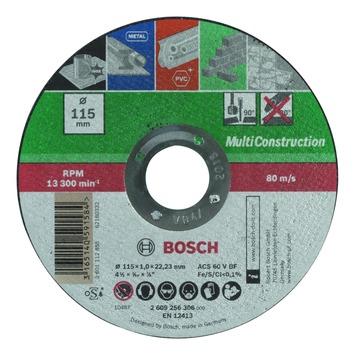 Meule à tronçonner Bosch 115x1 mm multi