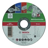 Bosch doorslijpschijf multi 125x1 mm