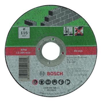 Bosch doorslijpschijf steen 115x2,5 mm