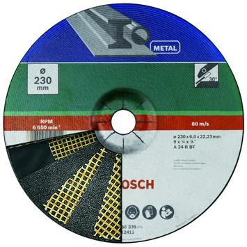 Bosch afbraamschijf metaal 230x6 mm