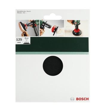Plateau de ponçage flexible Bosch 125 mm