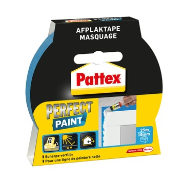 Ruban de masquage Pattex Perfect Paint 19 mm 25 m bleu