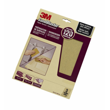 3M SandBlaster schuurpapier P120 paars 3 stuks