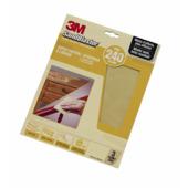 3M SandBlaster schuurpapier P240 goud 3 stuks