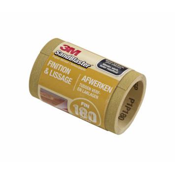 3M SandBlaster schuurpapier op rol P180 goud 5 m