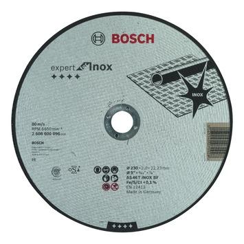 Bosch doorslijpschijf 230x2 mm inox