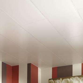 Grosfillex paneel Easytop PVC wit satijn 3,36 m²
