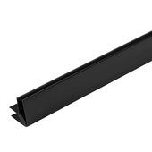 Grosfillex binnen-/buitenhoek 5/8 mm zwart 260 cm